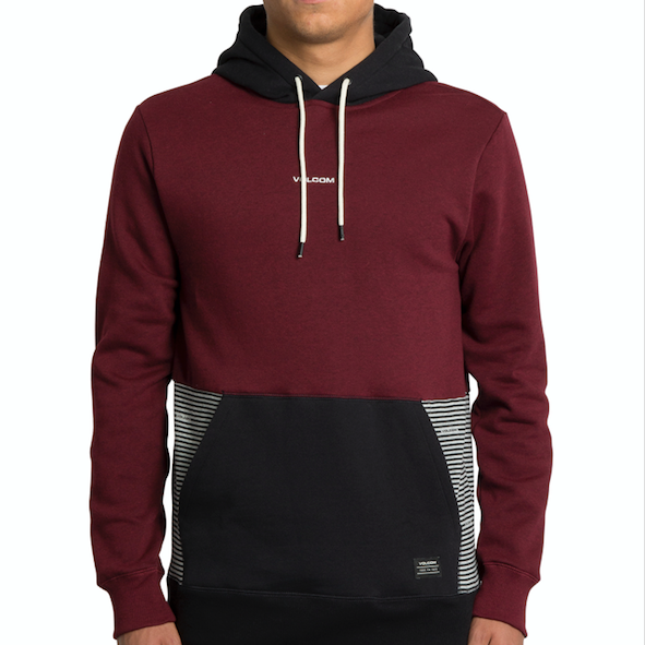 Forzee Pullover Cabernet