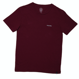 Youth Crass Blanks T-shirt Cabernet