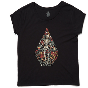 Womens Radical Daze Tee Black