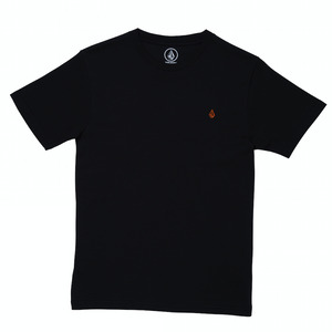 Youth Stone Blank T-shirt Black