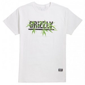 Grizzly Seeds Stamp Tee White