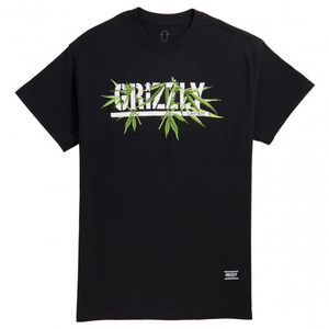 Grizzly Seeds Stamp Tee Black