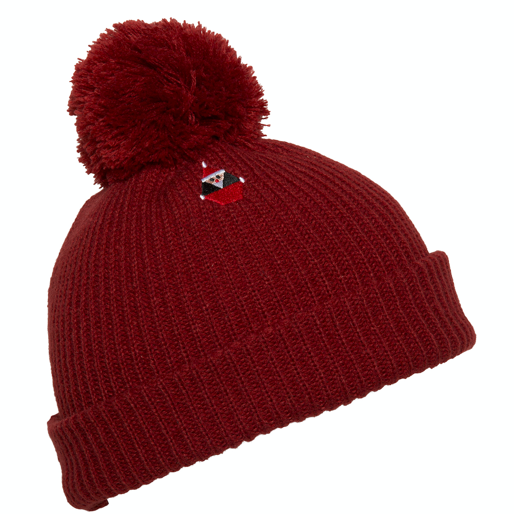 Santastone Beanie Deep Red