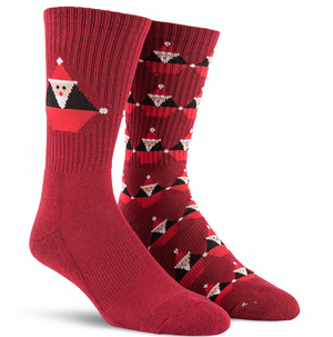 Santastone Socks Deep Red