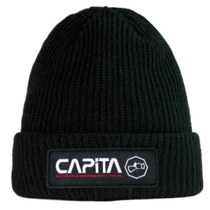 Station 1 Beanie Black
