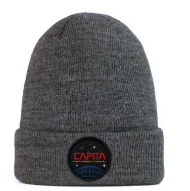 Space Beanie Dark Grey