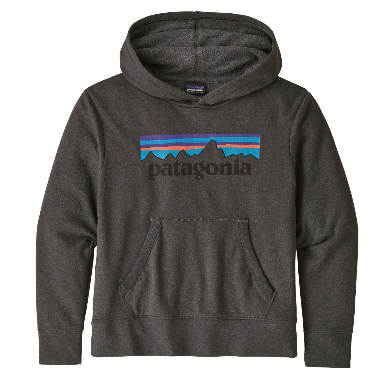 Youth Lightweight Graphic Hoody Sweatshirt Forge Grey