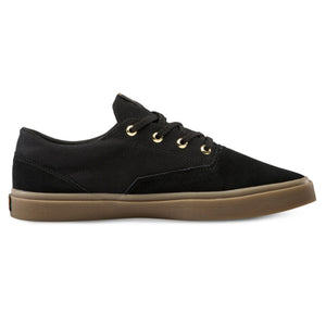Draw Lo Suede Shoe Black Out