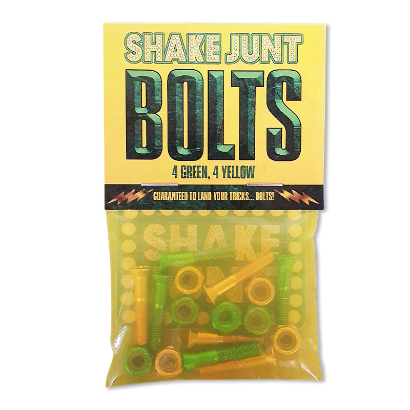 Bolts Yellow/Green Phillips 1""