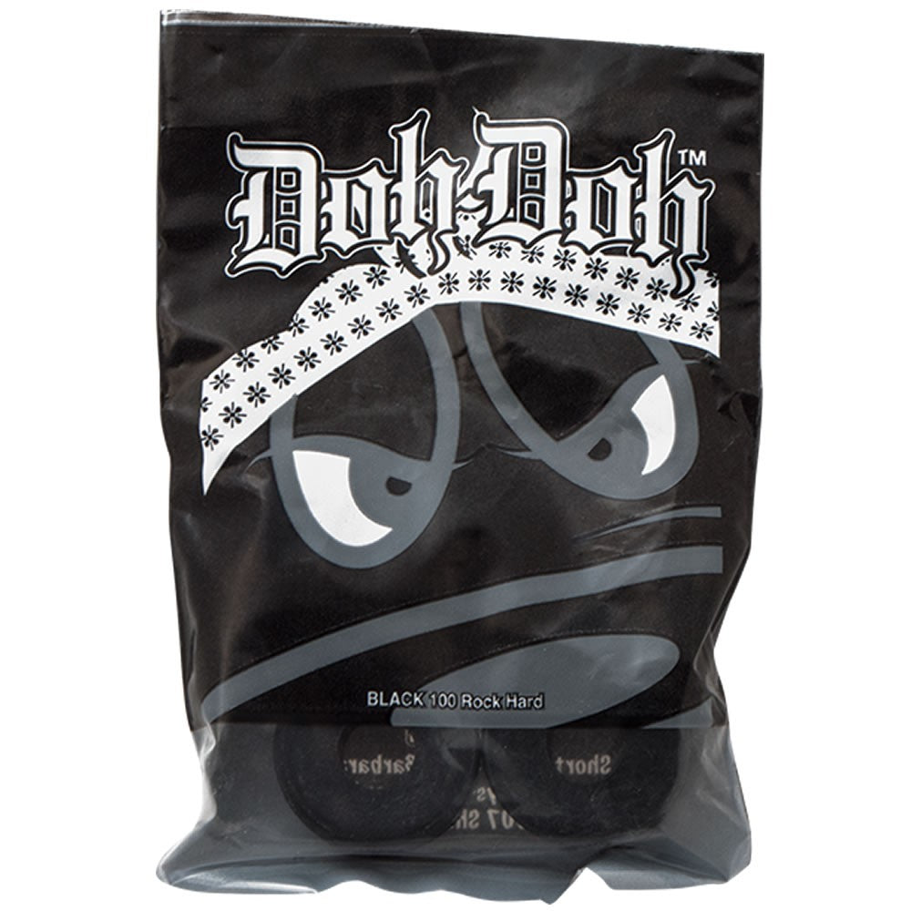 Doh-Dohs Rock Hard Black 100a bushings