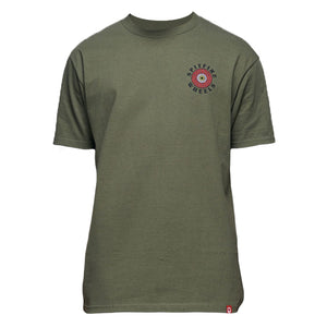 OG Classic Fill T-shirt Military Green/Red