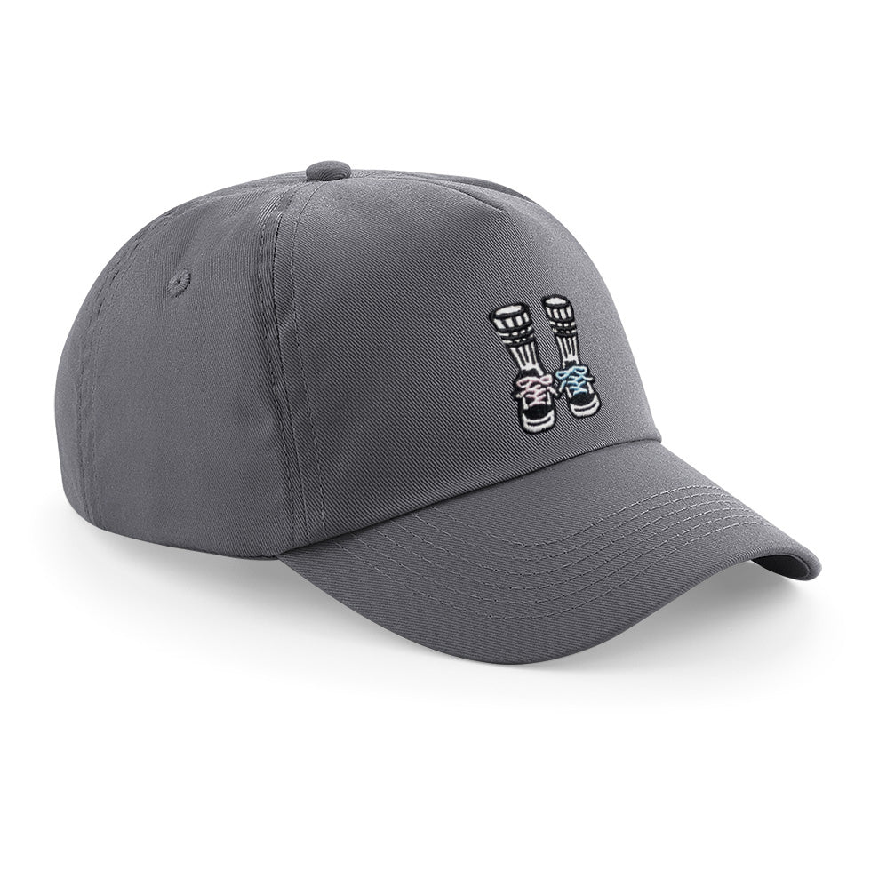 Youth Street Pirate Cap Graphite Grey