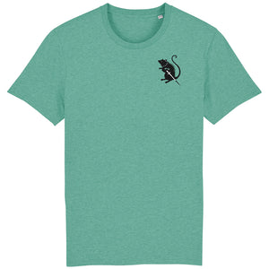 Master Blaster Tee Mid Heather Green