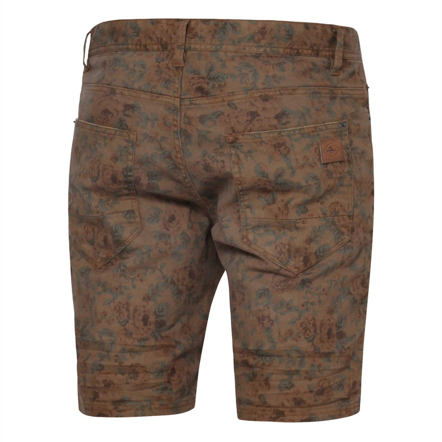 Stringer Pattern Walkshorts Brown AOP - Stoked Boardshop  - 2