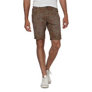 Stringer Pattern Walkshorts Brown AOP - Stoked Boardshop  - 3