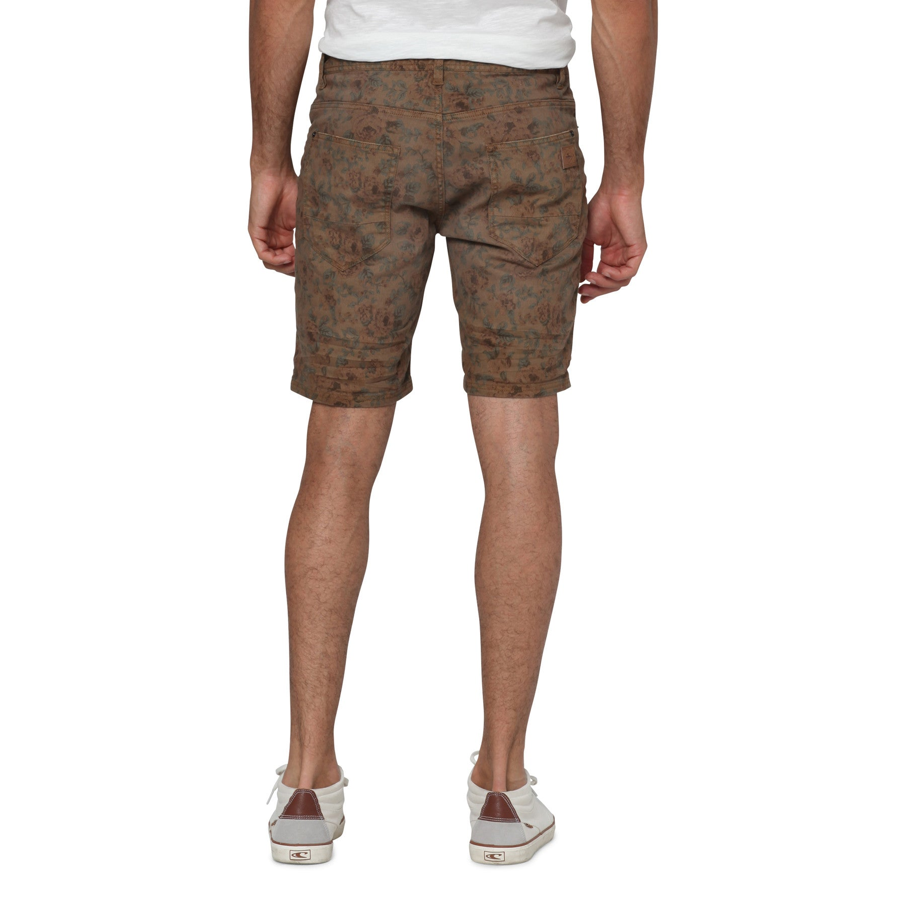 Stringer Pattern Walkshorts Brown AOP - Stoked Boardshop  - 4