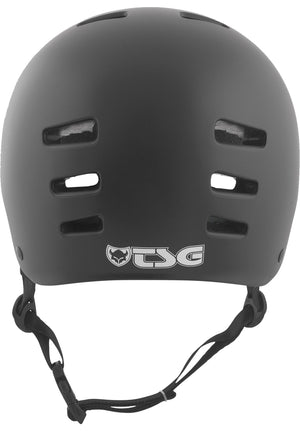 Evolution Youth Solid Colors Satin Black Helm