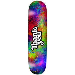 "Color Burst Logo 8.0"" Skateboard Deck"