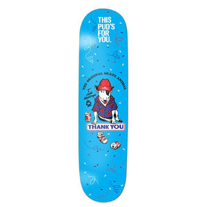 "Torey Pudwill Skate Animal 8.125"" Skateboard Deck"