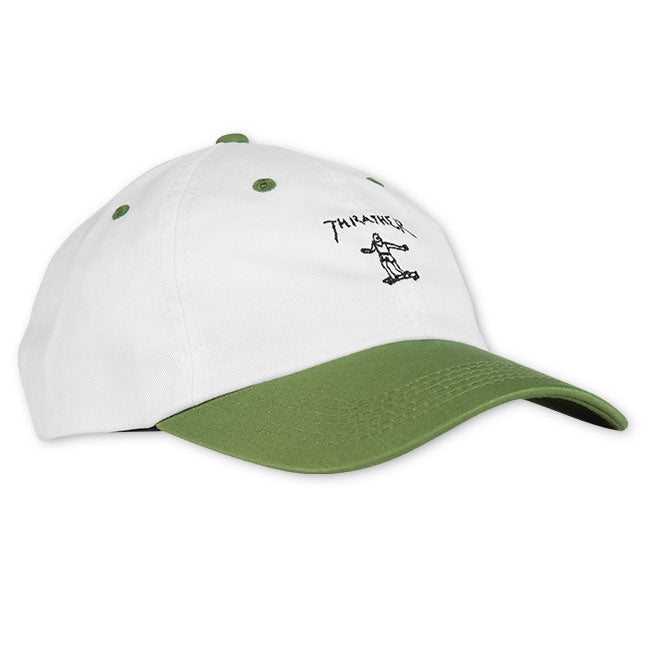 Gonz Old Timer Hat White/ Olive