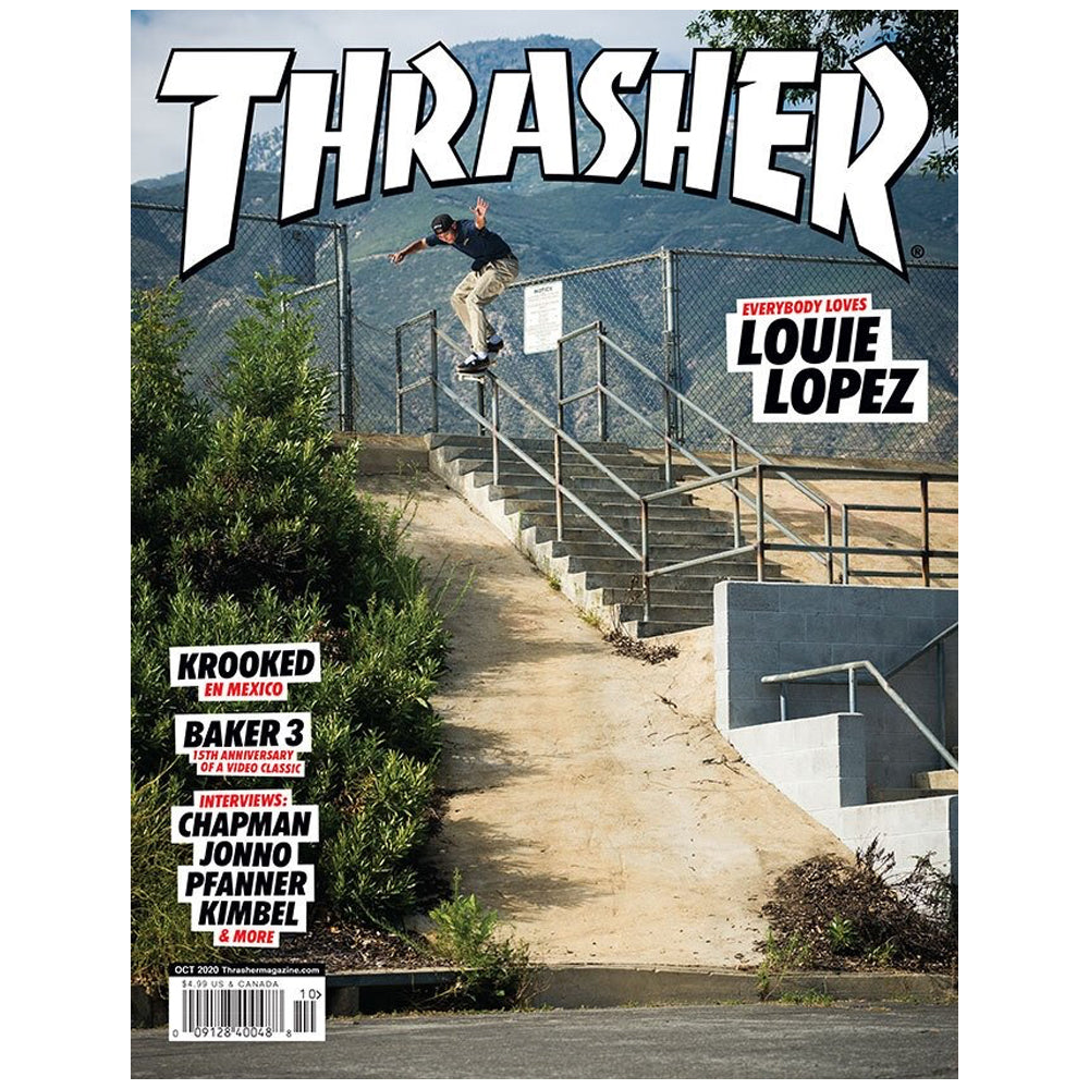 Thrasher Magazine Issue #483 October 2020