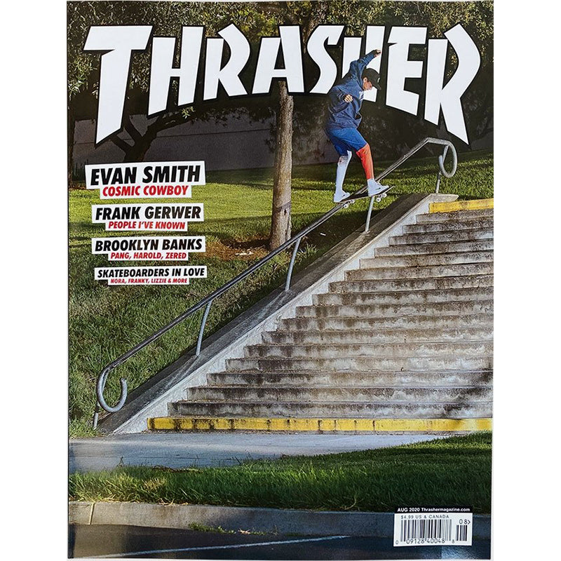 Thrasher Magazine Issue August 2020