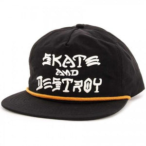Skate And Destroy Puff Ink Black/Gold