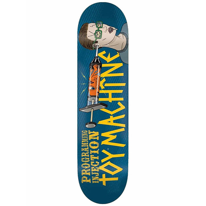 "Programming Injection 8.13"" USA Wood Skateboard Deck"