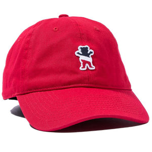 Leader Of The Pack Dad Hat Red