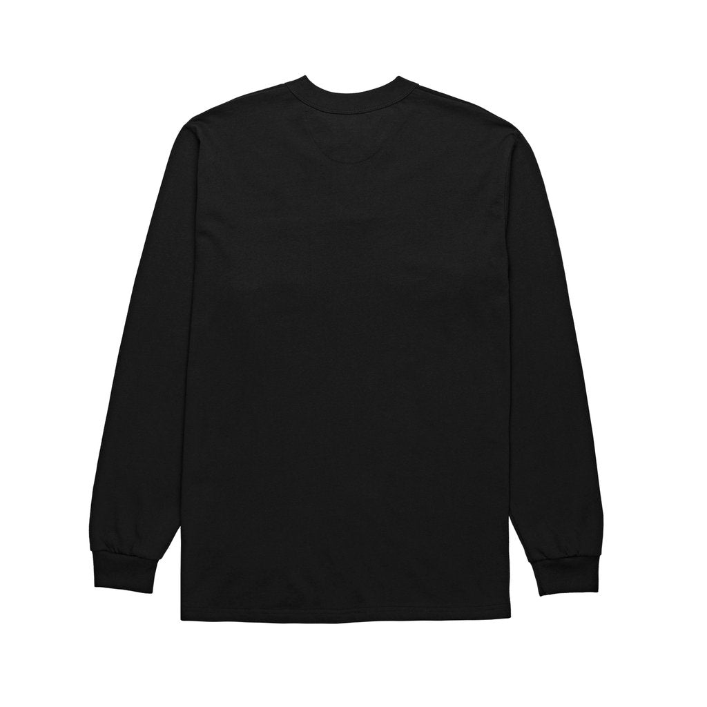 Train Banks henley longsleeve black