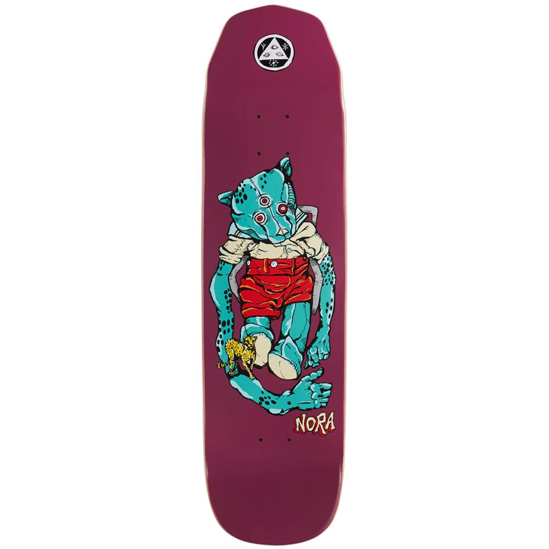 "Nora Vasconcellos Teddy 8.125"" Skateboard Deck"