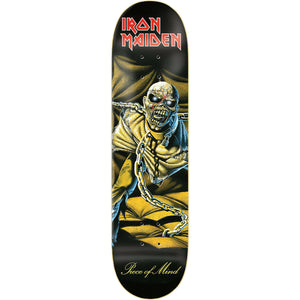 Zero X Iron Maiden Piece Of Mind Skateboard Deck 8.375""