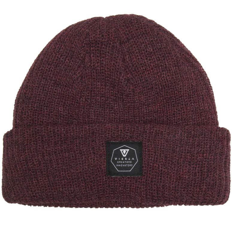 Jetty Beanie Burgundy Heather