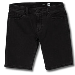 Chrome Fleece Short Black
