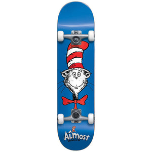 Almost x Dr. Seuss Cat Face blue FP Complete 7.9""