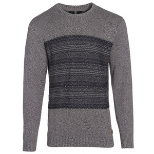 Kids Antys Crew Sweater Pewter - Stoked Boardshop