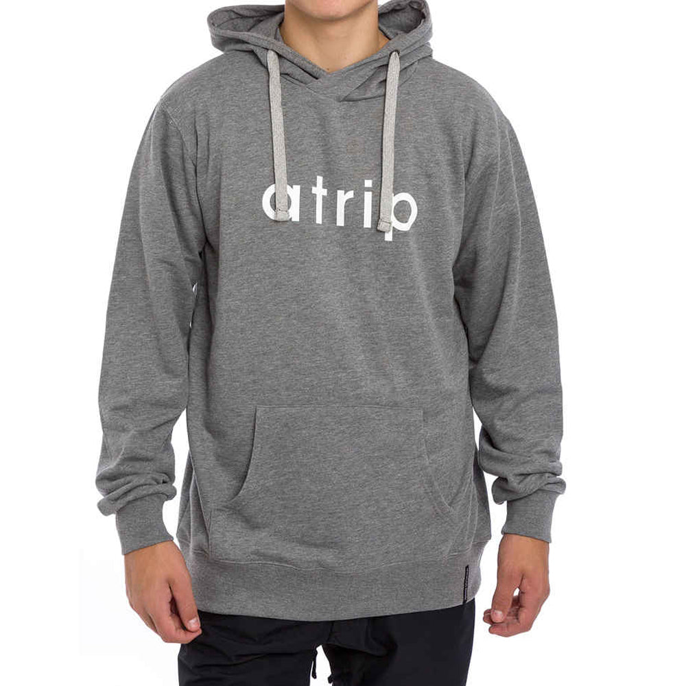 Atrip hoodie grey heather