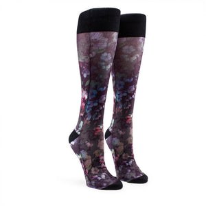 Native Sock - Black Floral - Stoked Boardshop