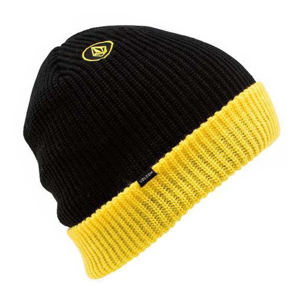 2 tone Sweep Beanie - Black - Stoked Boardshop