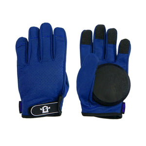 Lederen Slide Gloves Blauw - Stoked Boardshop