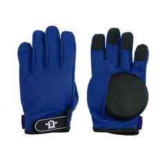 Lederen Slide Gloves Paars