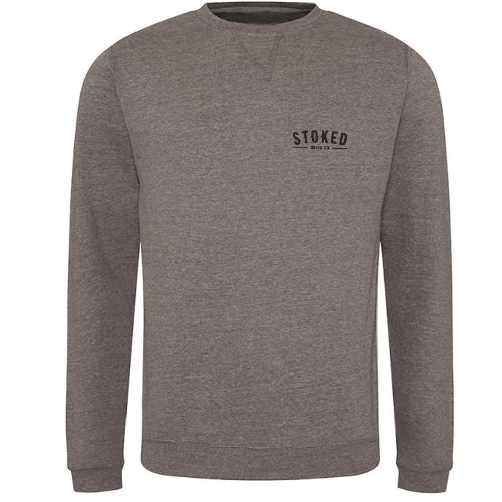 Boardco grey heather sweater