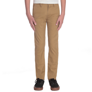 Kids Frickin Skinny Chino Dark Khaki - Stoked Boardshop