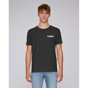 Script Dark heather grey t-shirt