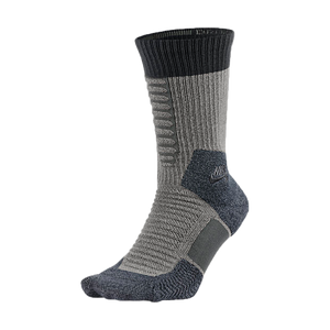 ELITE SKATE 2.0 CREW SOCK Dark Grey Heather/Anthracite/Anthracite - Stoked Boardshop  - 1