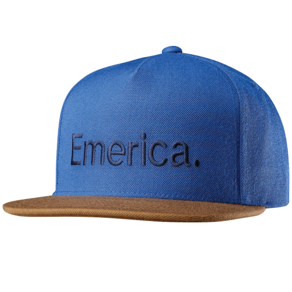 Pure Snapback Brown/Navy - Stoked Boardshop