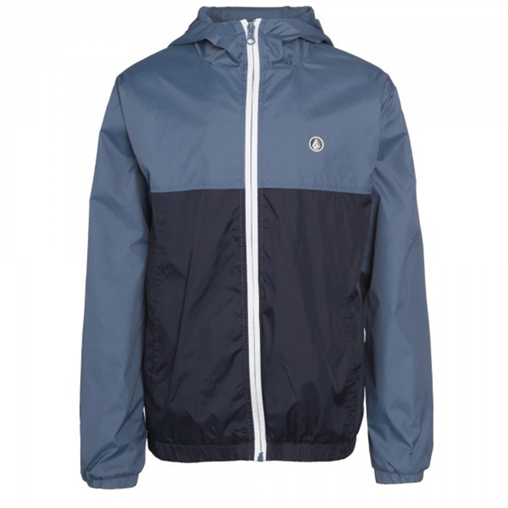 Kids Ermont II Jacket Grey Blue - Stoked Boardshop  - 1