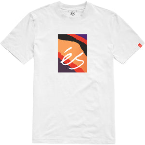 Main block symbol tee white