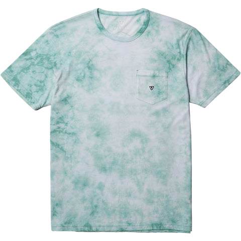 Calipher Embroidery Tie Dye Jade Heather