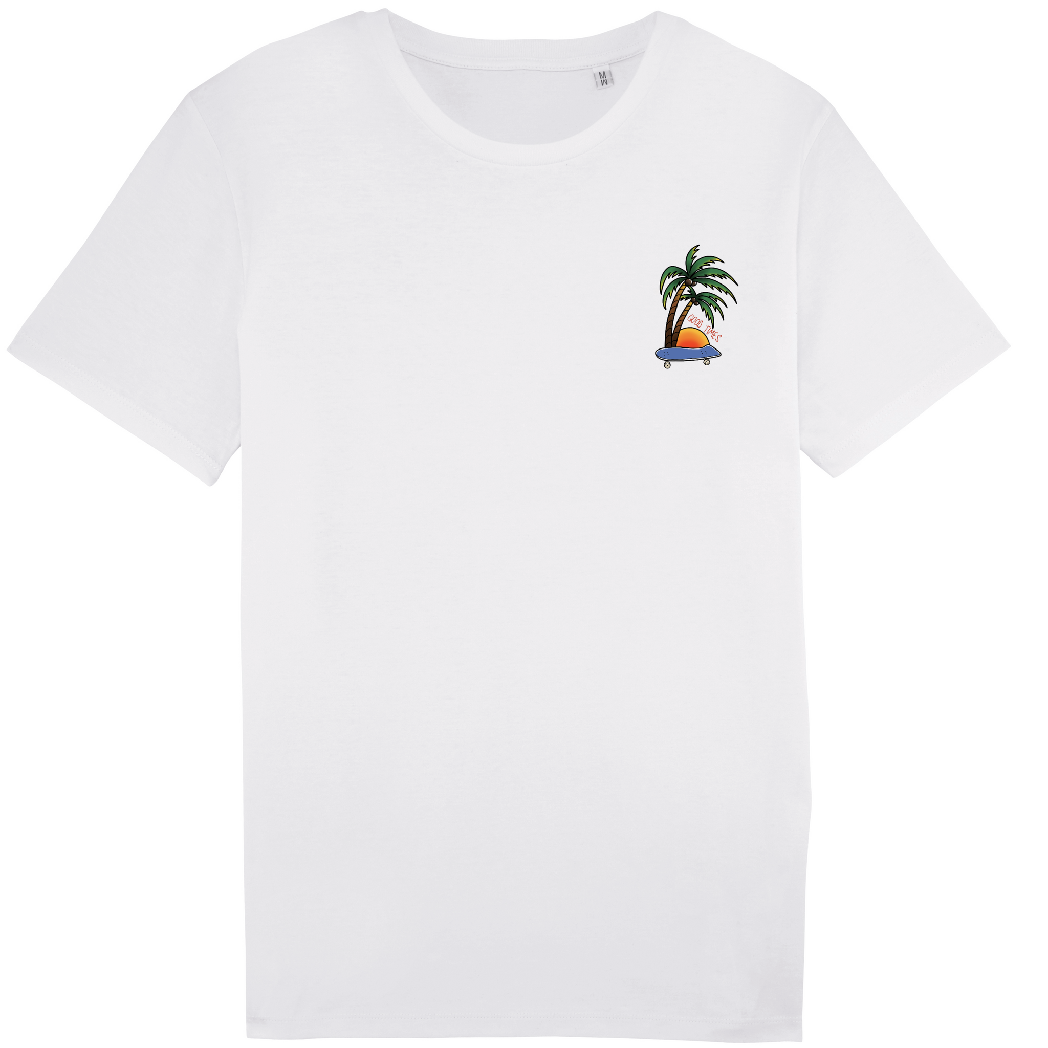 Youth Good Times tee white